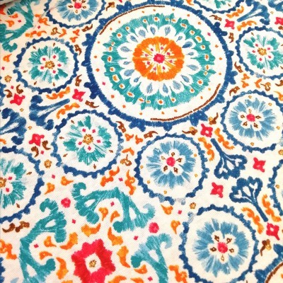 Tecido Mandala painting