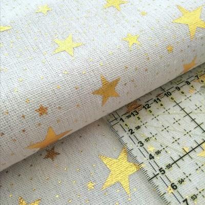 Tecido Stars gold