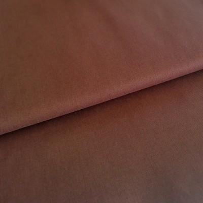 Tecido liso castanho