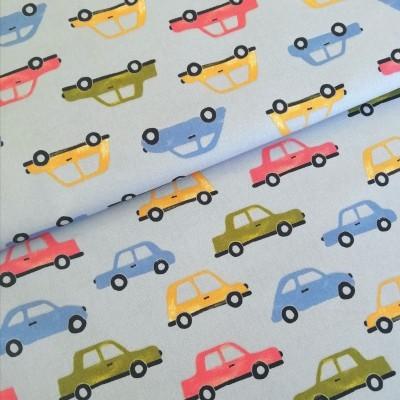 Tecido Carros coloridos