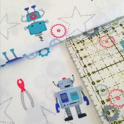Tecido Robots
