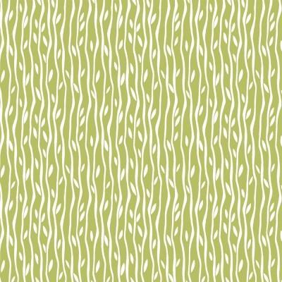 Tecido Fabricart - Pandas bambu verde