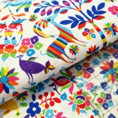 Tecido Colorful Nature