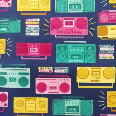 Tecido Radios