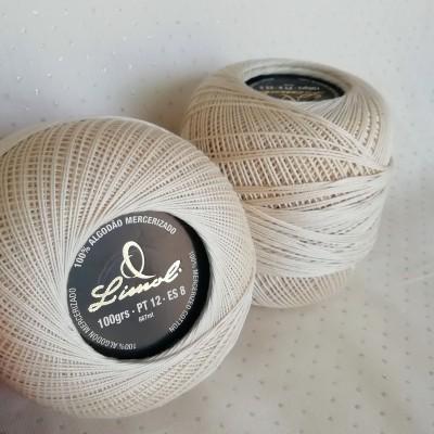 Linha Crochet n12 - 100g - bege