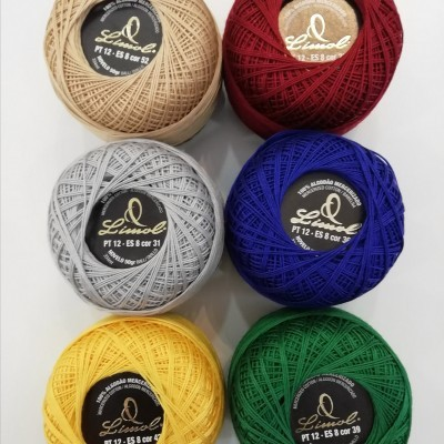 Linha Crochet n12 - 50g