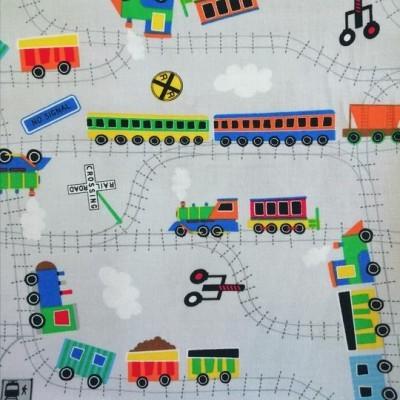 Tecido comboios