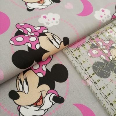 Tecido Disney - Minnie in the moon