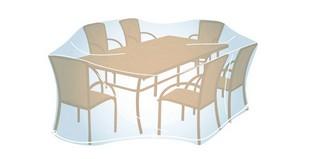 Cobertura Mesa Retangular/ Oval L