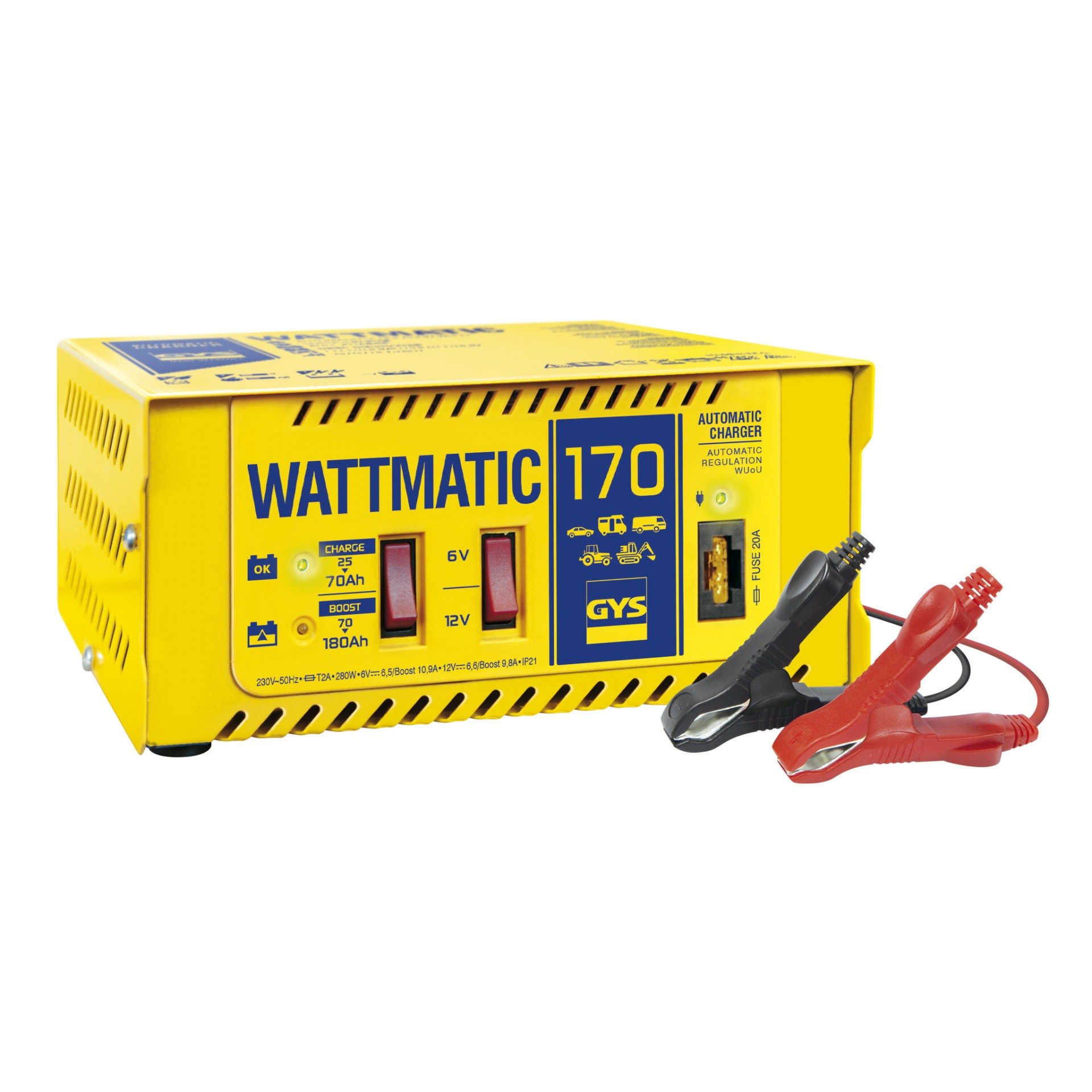 Carregador WATTMATIC 170