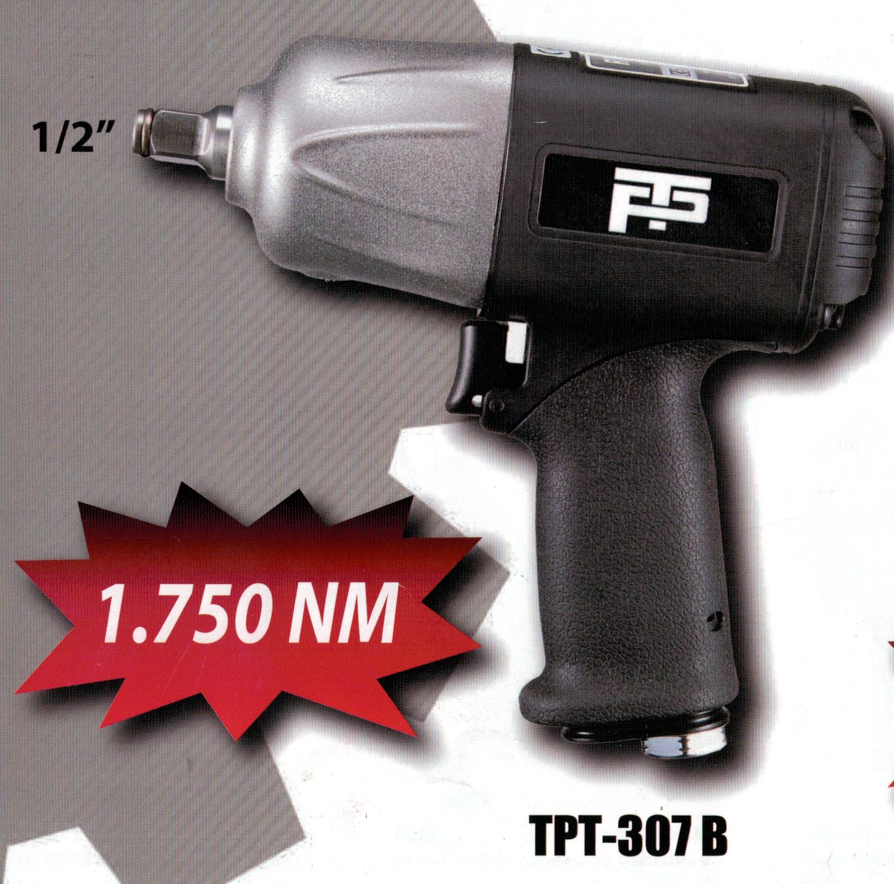 "Pistola de impacto 1/2"" 1750 Nm"