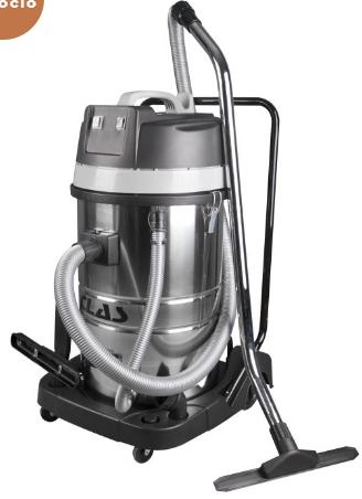 Aspirador de pó e água 2 x 1000W