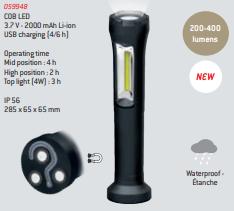 Lâmpada impermeável 400L