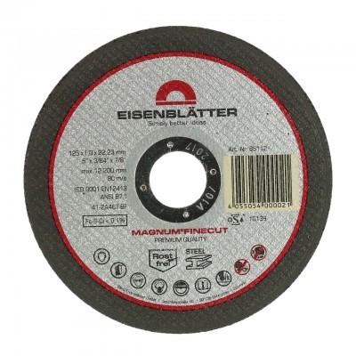 "Discos de corte MAGNUM® FINECUT 125 x 22,2 mm, 1,0 mm ""Embalagem de 25 unid."""