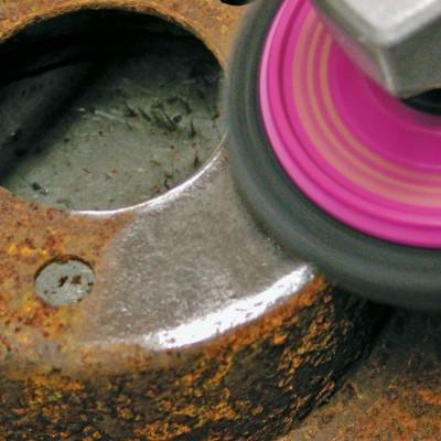 Discos de limpeza MAGNUM® 125 x 22,2 mm, aprox. 13 mm esp. Kits de 5  unidades