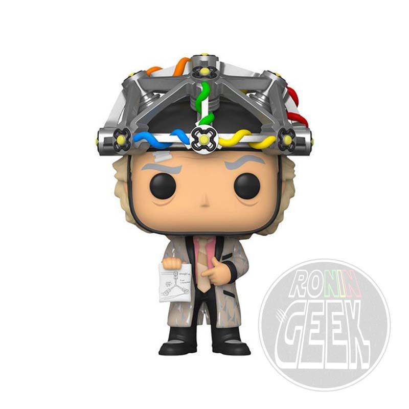 FUNKO POP! Movies: Back to the Future - Doc w/Helmet