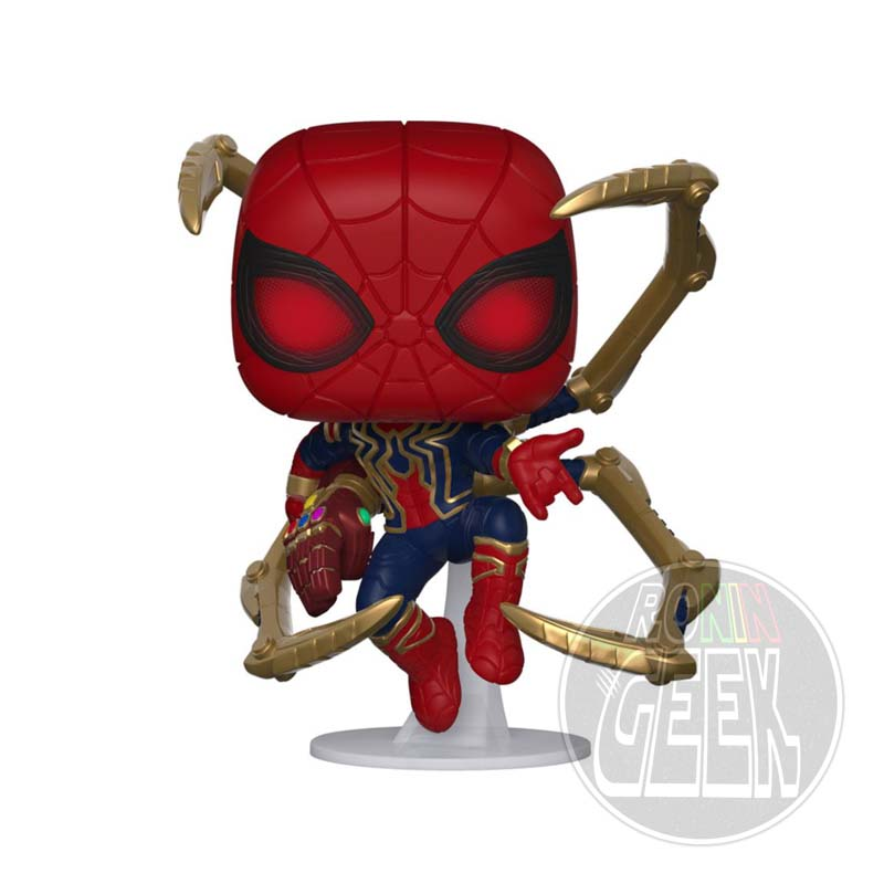 FUNKO POP! Avengers Endgame - Iron Spider with Nano Gauntlet