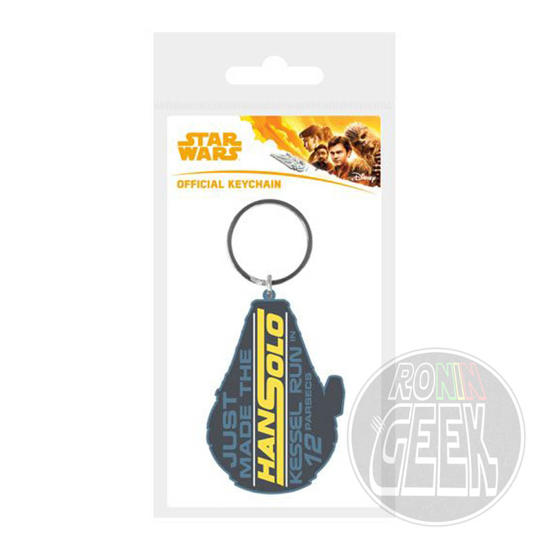 Star Wars Solo Rubber Keychain Kessel Run in 12 Parsecs