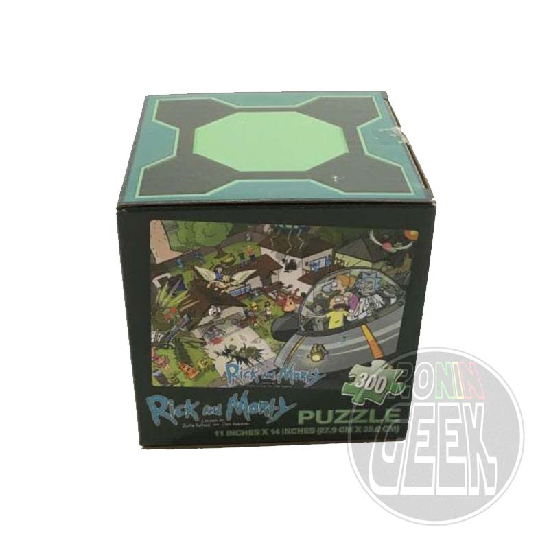 Rick and Morty Puzzle LC Exclusive
