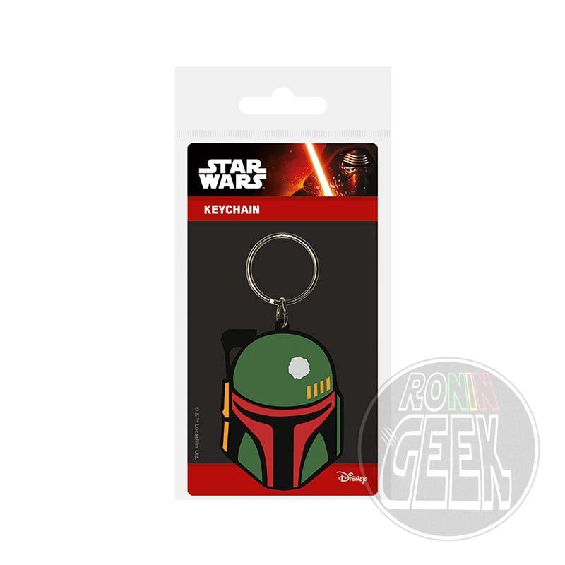 Star Wars Rubber Keychain Boba Fett