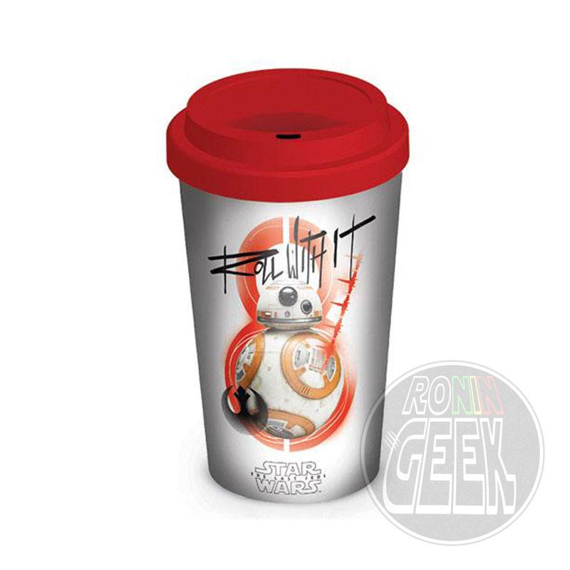 Star Wars Episode VIII Travel Mug BB-8 Roll With It