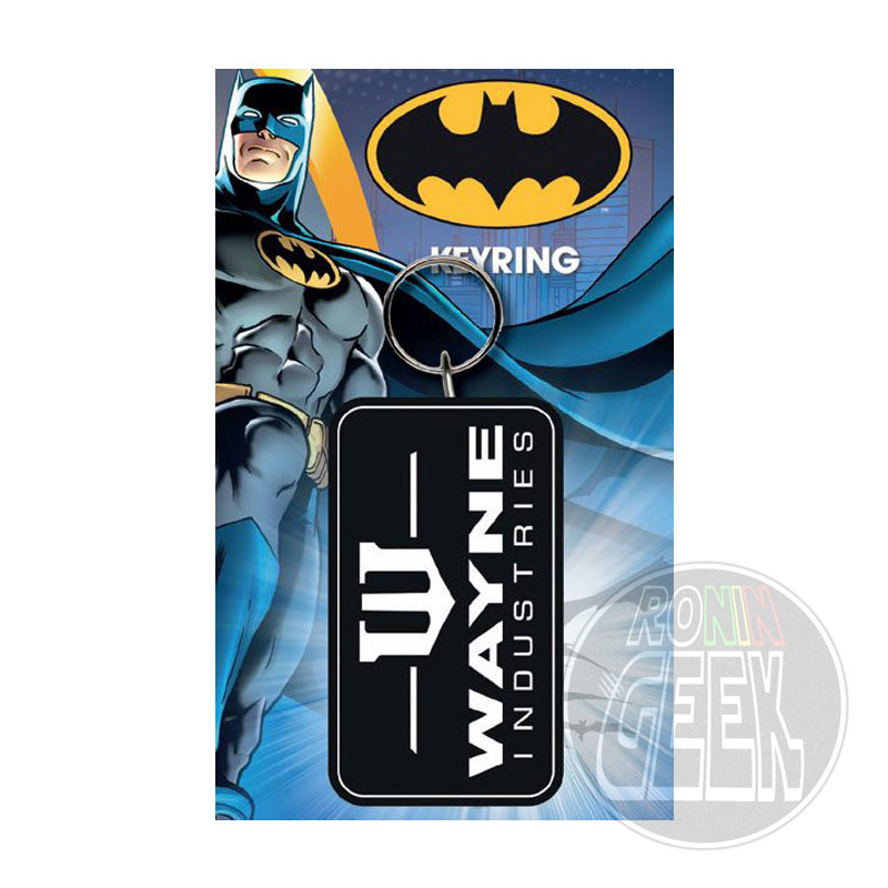Batman Rubber Keychain Wayne