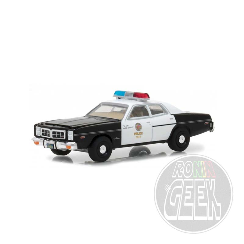 GREENLIGHT COLLECTIBLES The Terminator - 1977 Dodge Monaco Police 1/64