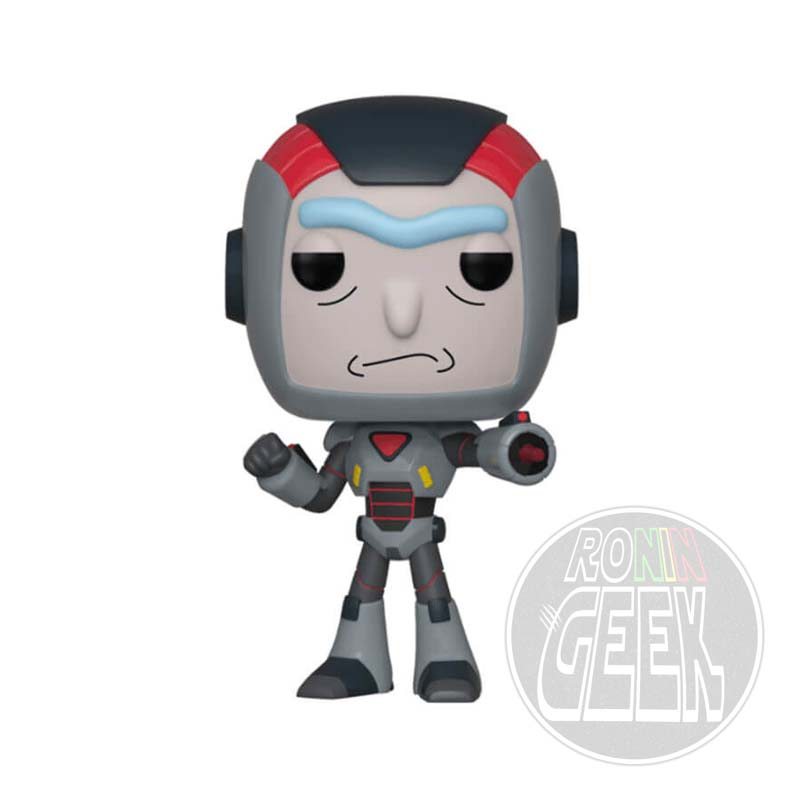 FUNKO POP! Animation: Rick and Morty - Purge Suit Rick