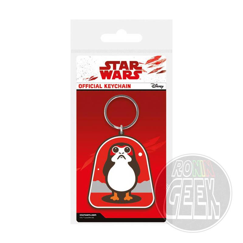 Star Wars Episode VIII Rubber Keychain Porg