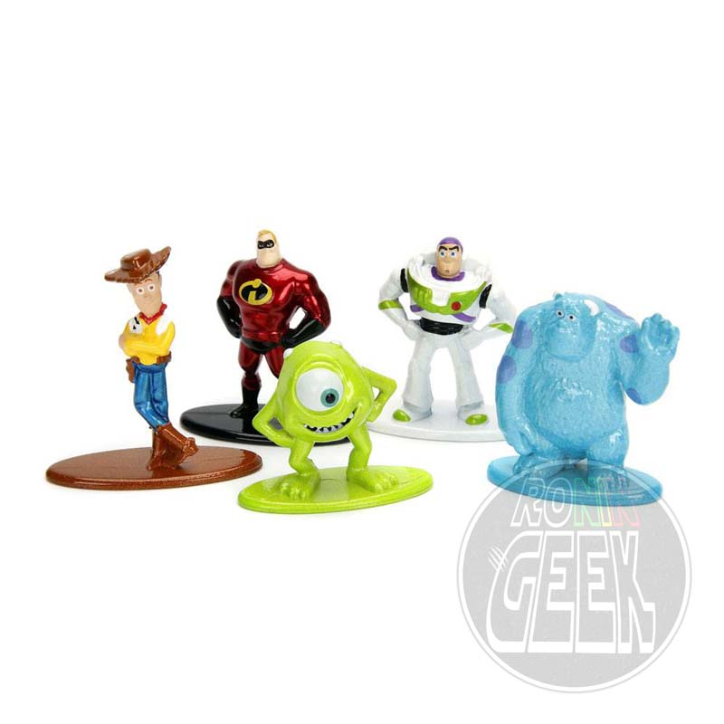 JADA Disney Nano Metalfigs Diecast Mini Figures 5-Pack Disney Pixar