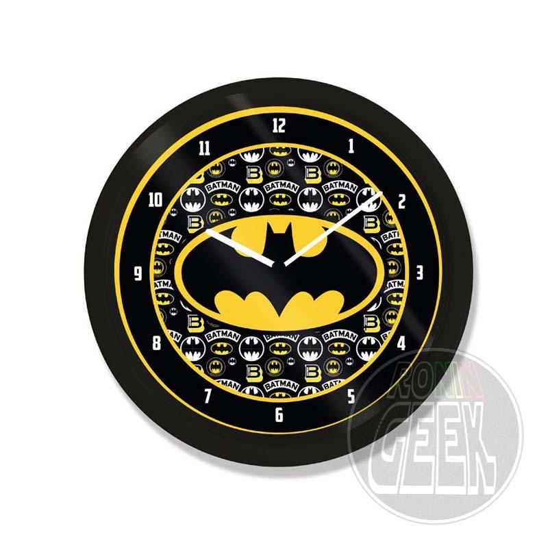 Relógio de Parede Logo Batman