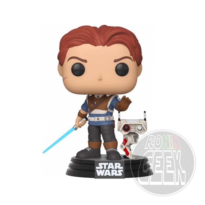 FUNKO POP! Star Wars: Jedi Fallen Order - Cal Kestis & BD-1