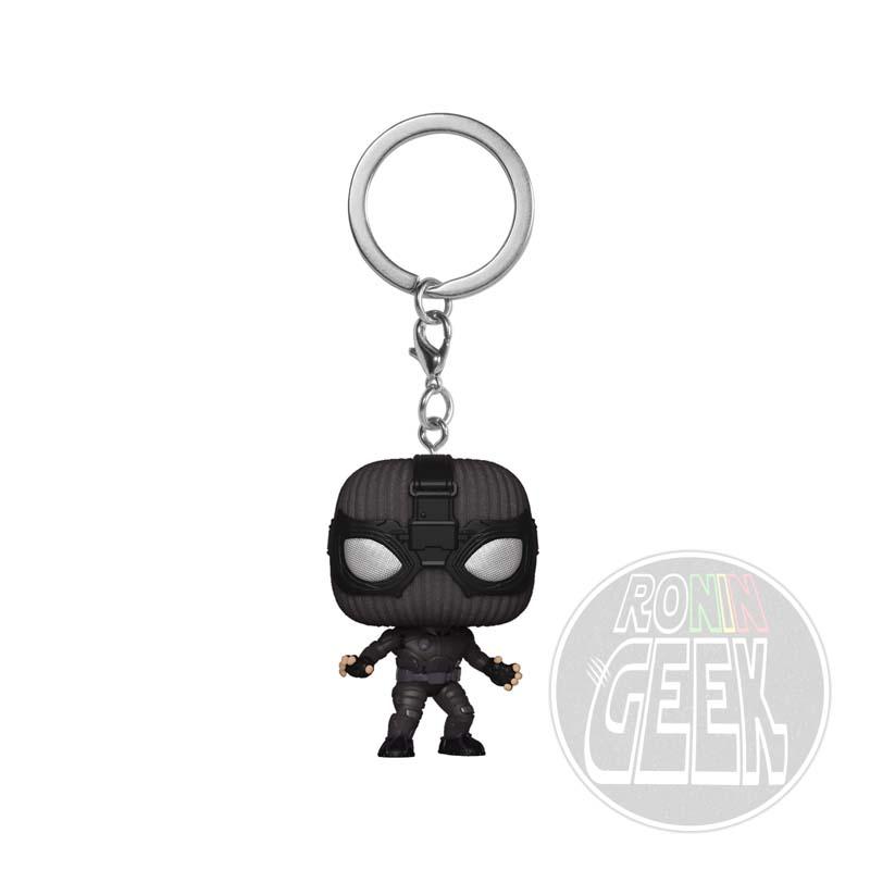 FUNKO POP! Keychain: Spider-Man: Far From Home - Spider-Man (Stealth Suit)