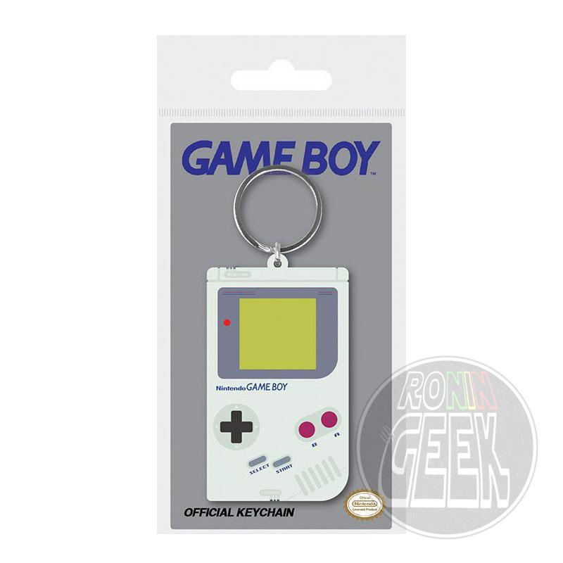 Nintendo Rubber Keychain Gameboy