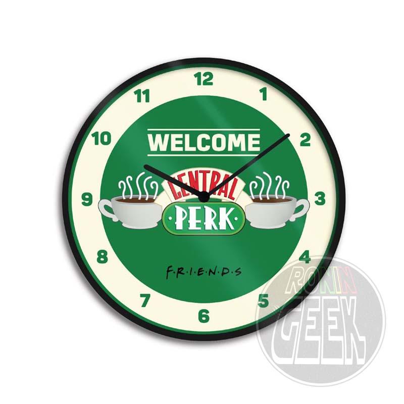 Relógio de Parede Logo Friends - Central Perk