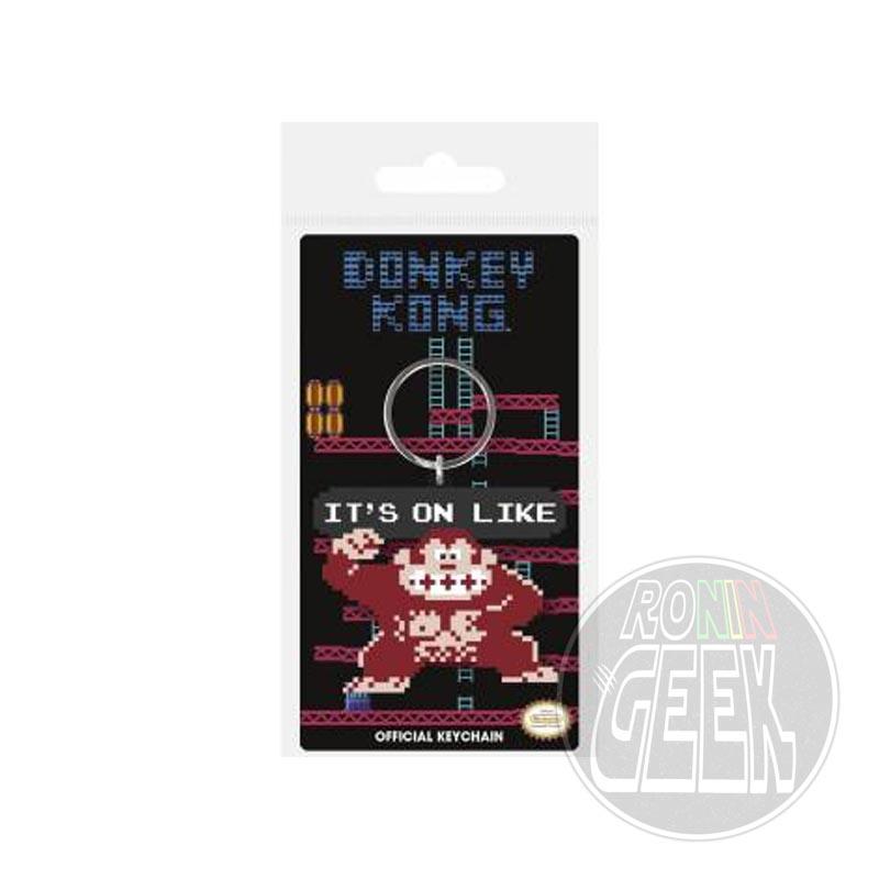 Donkey Kong Rubber Keychain It's On Like