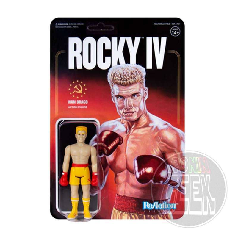 SUPER 7 ReAction Rocky 4 Action Figure - Ivan Drago