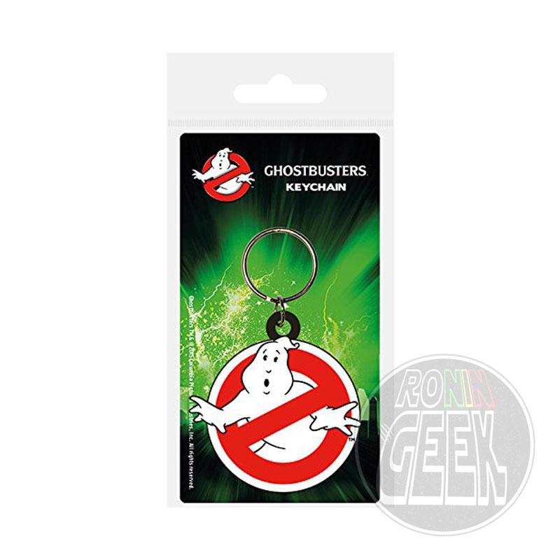 Ghostbusters Rubber keychain Logo