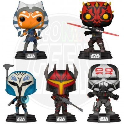 PRÉ-VENDA FUNKO POP! Star Wars: Clone Wars