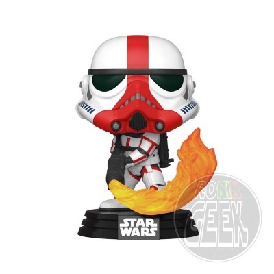 FUNKO POP! Star Wars: The Mandalorian - Incinerator Stormtrooper