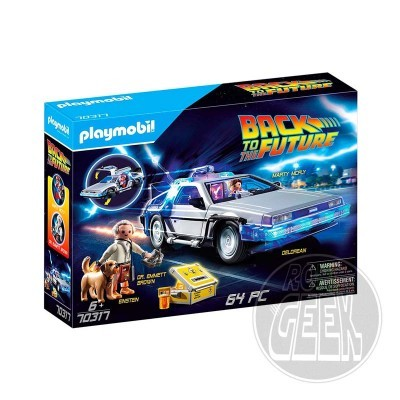 Playmobil 70317: Back to the Future - Delorean
