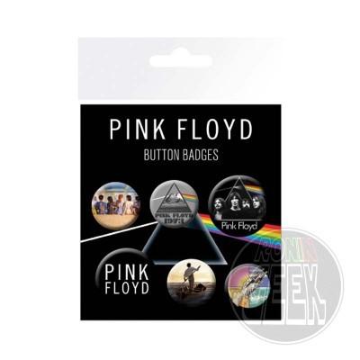 Pink Floyd pin badge 6-pack