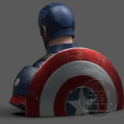 Mealheiro Marvel Comics - Captain America