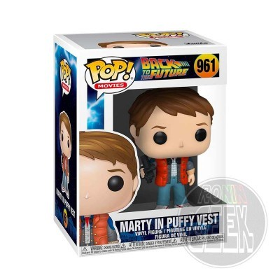 FUNKO POP! Movies: Back to the Future Marty in Puffy Vest