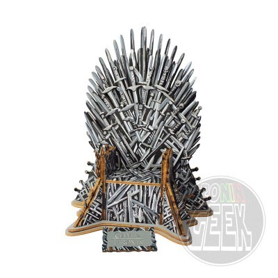 EDUCA Game of Thrones 3D Puzzle Iron Throne