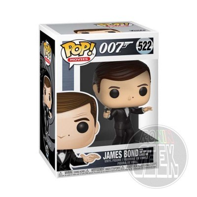FUNKO POP! Movies: 007 - James Bond (Roger Moore)