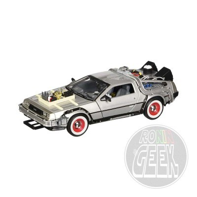 WELLY Back to the Future III Diecast Model 1/24 ´81 DeLorean LK Coupe