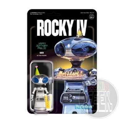 SUPER 7 ReAction Rocky 4 Action Figure - Sico Paulie's Robot