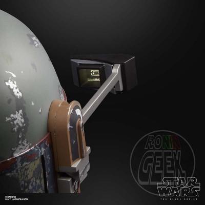 HASBRO Star Wars Black Series Premium Boba Fett Electronic Helmet