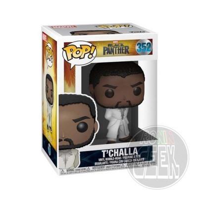 FUNKO POP! Black Panther - T'Challa (White Robe)